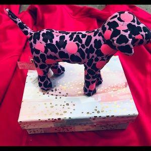Victoria Secret Pink Mini Display Dog & Gift Box